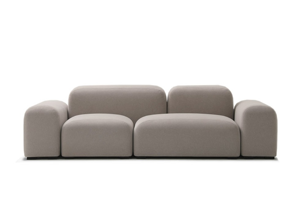 Pebble | Sofa - fabric 잭슨카멜레온